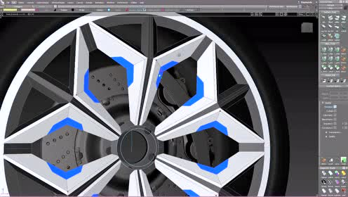 Electra Wheel Finding the form in space